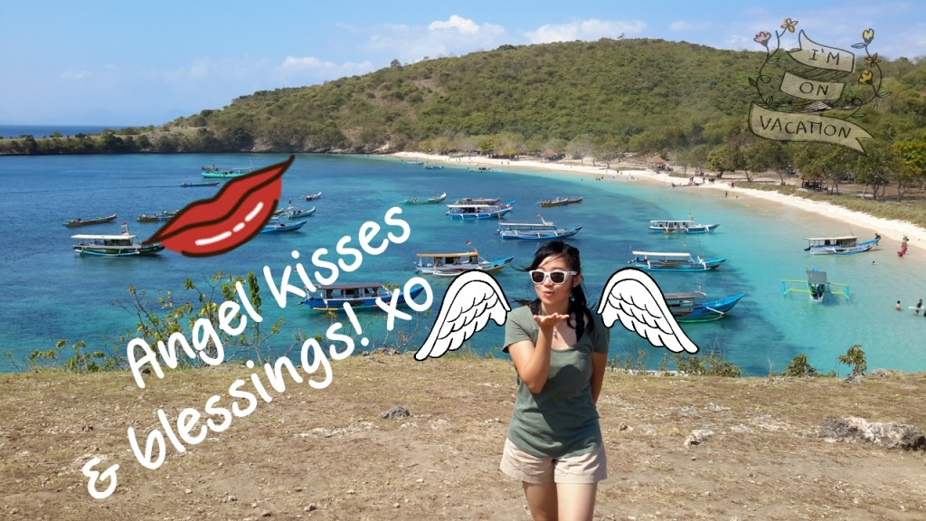 Angel kisses from Lombok