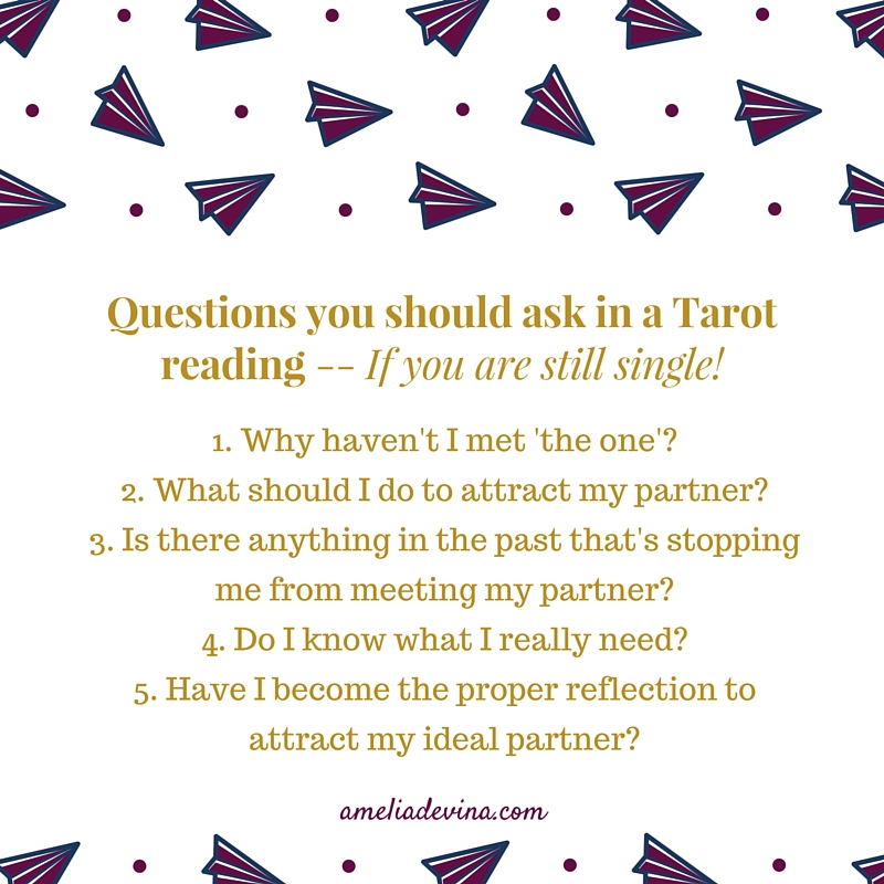 how to ask tarot questions about numbers